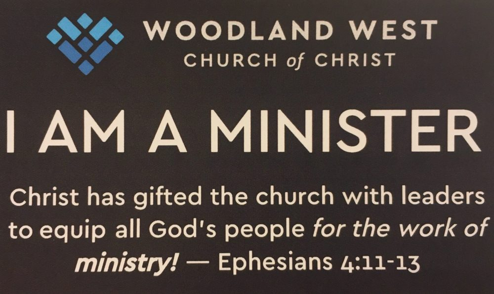 I Am A Minister